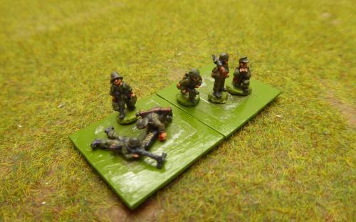10mm WW2 German LMGs (Pendraken miniatures)