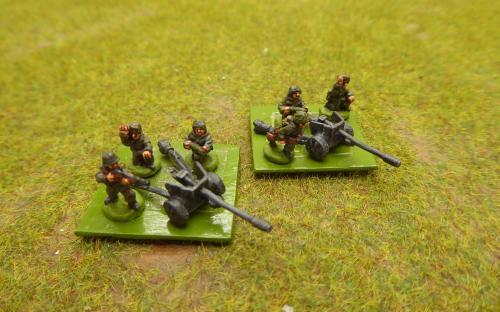 10mm WW2 German 75mm ATG (Pendraken miniatures)