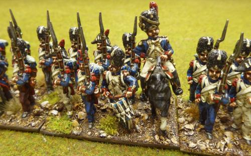 28mm Napoleonic French Imperial Guard Grenadier battalion (Front Rank)