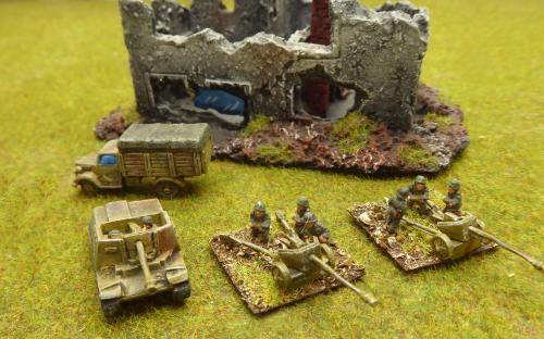 10mm WW2 German army (Pendraken miniatures)