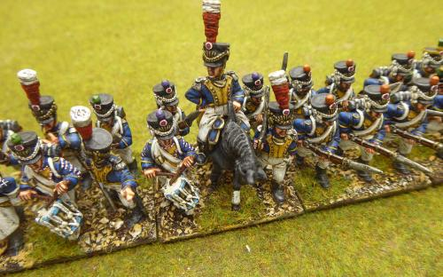 28mm Napoleonic Vistula Legion 4th line (Front Rank miniatures)