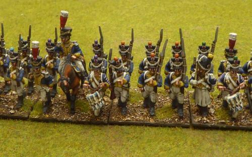 28mm Napoleonic Vistula Legion 2nd line (Front Rank miniatures)