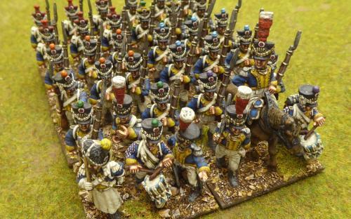 28mm Napoleonic Vistula Legion 1st line (Front Rank miniatures)