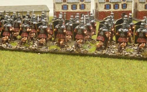 28mm Ancient Roman Legionaries