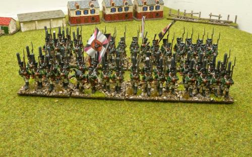 28mm Napoleonic Russian Line infantry (Warlord Games)