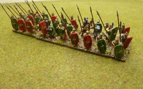 28mm Ancient Cartheginian Libyan Heavy Infantry.