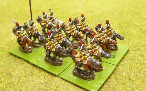 10mm Napoleonic Spanish Dragoons (Magister Militum miniatures)
