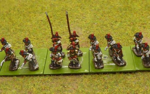 10mm Napoleonic Spanish infantry in Bicornes (Magister Militum miniatures)