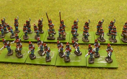 10mm Napoleonic Spanish infantry (1812 uniform)