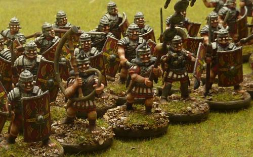 28mm Imperial Roman Legionaries (Warlord Games)