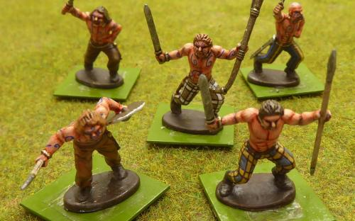 28mm Celtic Warriors (Warlord Games)