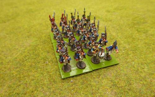 15mm Napoleonic French line infantry (Blie moon miniatures)
