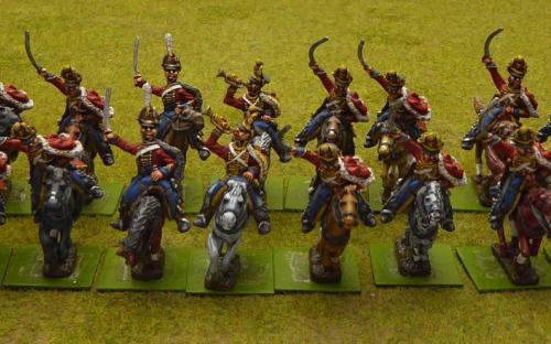 Russian Life Guard Hussars (Elite miniatures)