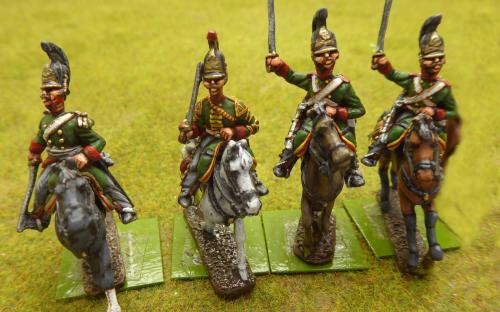 Russian Life Guard Dragoons (Elite miniatures)