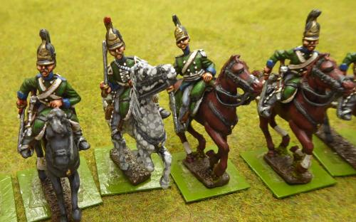 Russian Chernikov Dragoon Regiment (Elite miniatures)