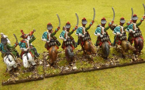 Napoleonic Russian Pavlograd Hussars (Elite miniatures)