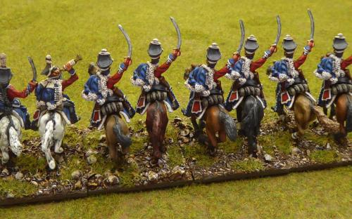 Napoleonic Russian Izoum Hussars (Elite miniatures)