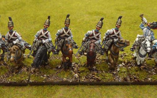 Napoleonic Russian His Majesties Cuirassier (Elite miniatures)