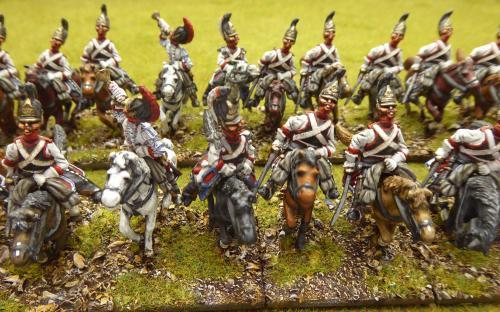 Napoleonic Russian Cheveauleger Guard Regiment (Elite miniatures)