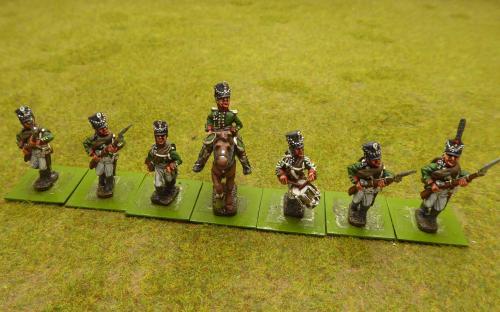 28mm Napoleonic Russian line infantry (Elite miniatures)