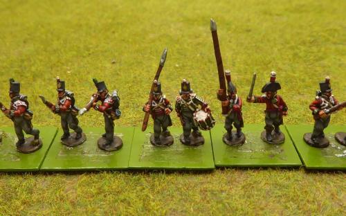2/5th British infantry regiment