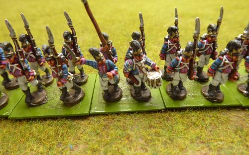 15mm Napoleonic Bavarian infantry (Blue Moon)
