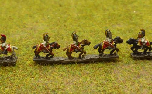 6mm Napoleonic Austrian Dragoons (Baccus miniatures)