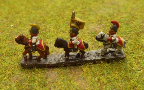 6mm Napoleonic Austrian Cuirassier (Baccus miniatures)