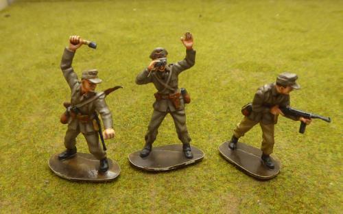 54mm WW2 German Afrika Korps