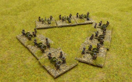 FPW French Imperial artillery (Baccus miniatures)