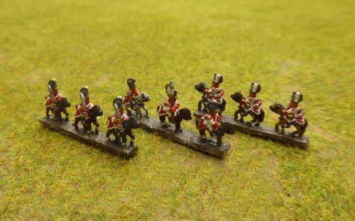 Bavarian line Dragoons (Baccus miniatures)