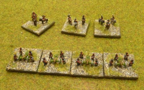 6mm Napoleonic French army (Baccus miniatures)