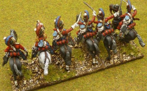 28mm Napoleonic British Household cavalry (Life Guards) Elite miniatures