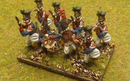 28mm Napoleonic Spanish Walloon Guard