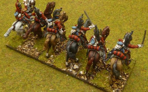 28mm Napoleonic British 1st Dragoon Guards (Elite miniatures)