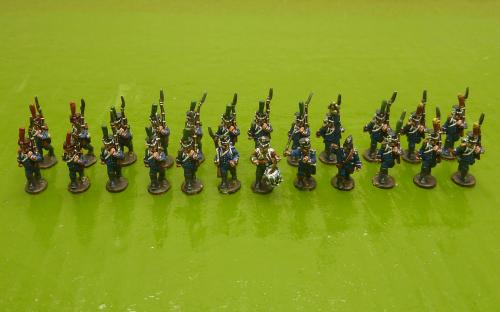 15mm Napoleonic French 10e Legere (Blue Moon figures)