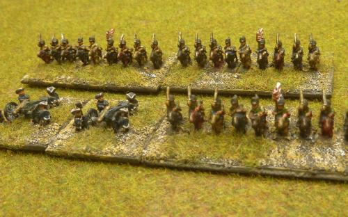 """6mm AWI """"Rebel"""" army (Baccus miniatures)"""