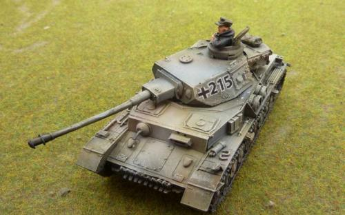 Panzer IV white washed for winter
