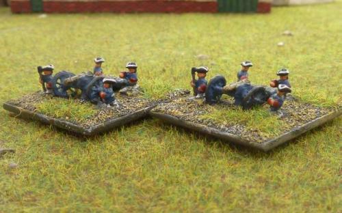 Prussian field guns