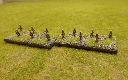 Pavlov Grenadier skirmishers