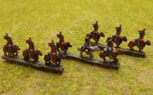 Russian Uhlans (6mm Baccus miniatures)