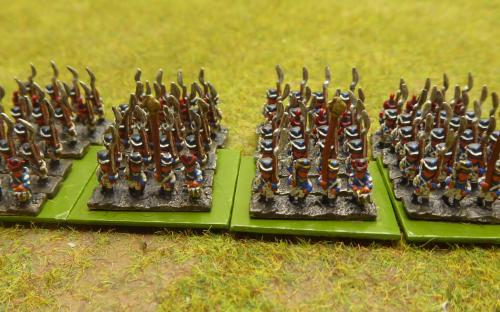 6mm Saxon line infantry
