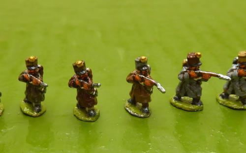 10mm French Skirmishers 1