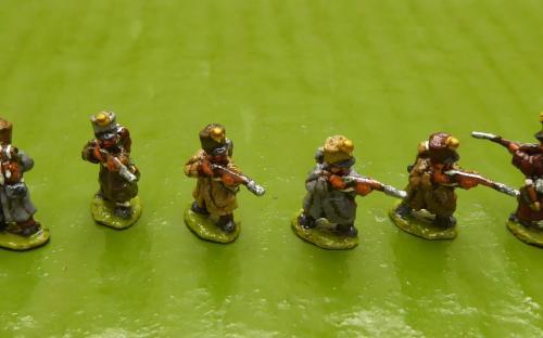 10mm French Skirmishers 4