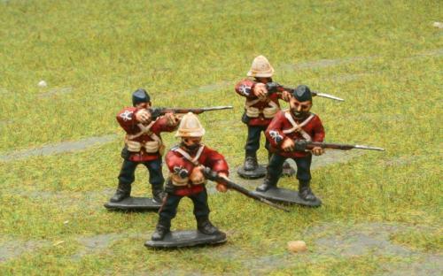 Zulu Wars British 24th Regiment