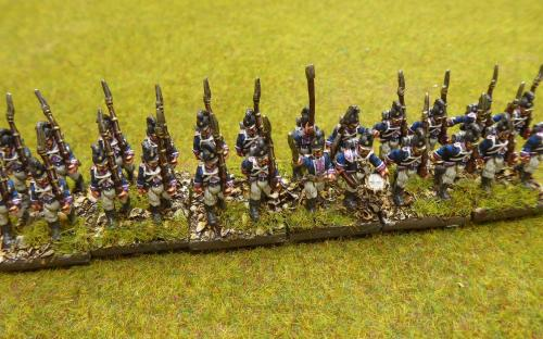 15mm Wurttemberg Line infantry (Blue moon miniatures)