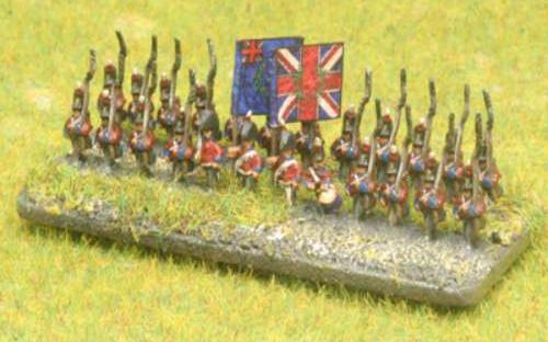 6mm Napoleonic British infantry