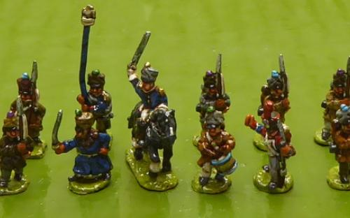 10mm Napoleonic Line infantry battalion 2